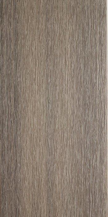 lame de terrasse Mahattan gris argent lisse