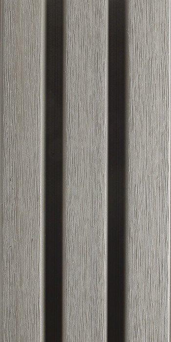 zoom sur la lame WEO gris argent