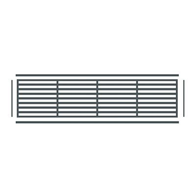 décors paxos pour cloture horizontal