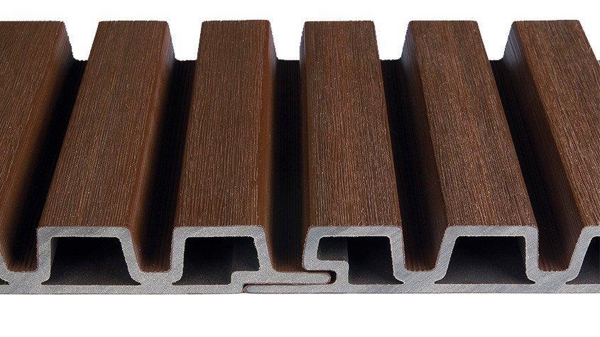bardage composite claire voie weo garantie 20 ans anti. Black Bedroom Furniture Sets. Home Design Ideas