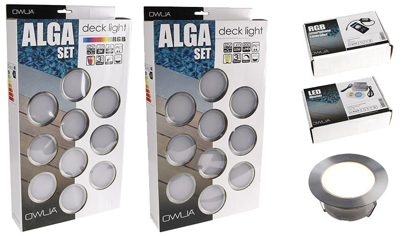 packaging des spots de terrasse owlia