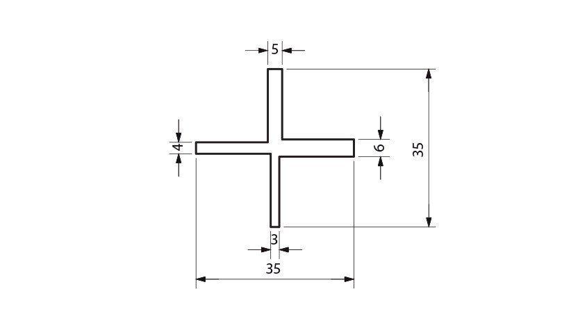 schéma de l'espaceur de lame deckspacer