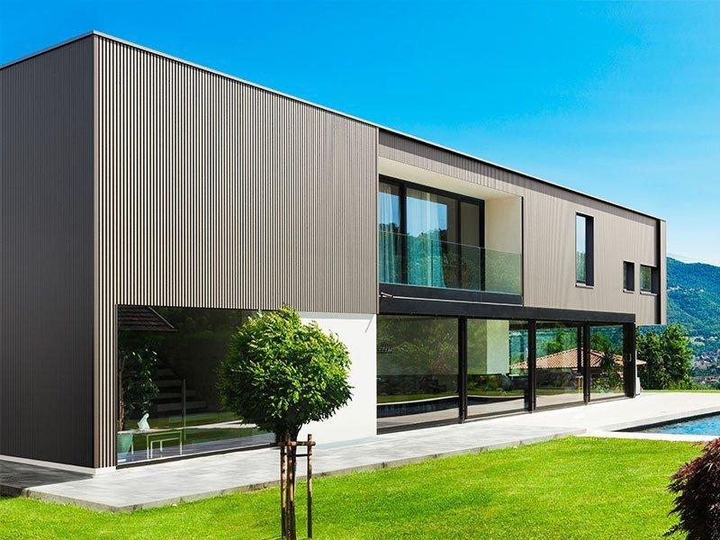 Wohnhaus mit WPC-Fassade