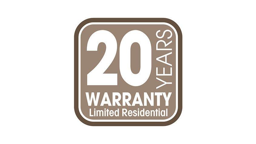 20-Jahres-Garantie (Logo)