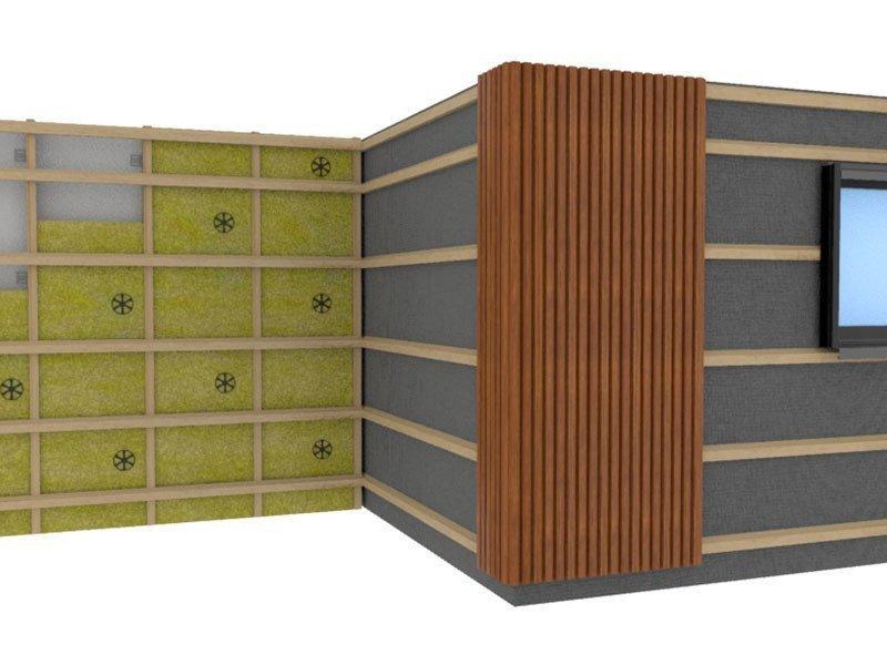 WPC-Fassaden-Montage
