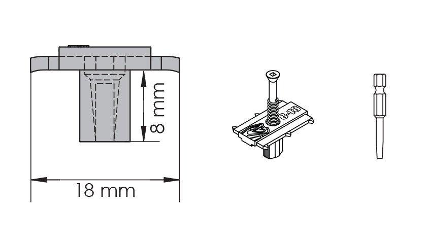 schéma technique du clip cobra hybrid